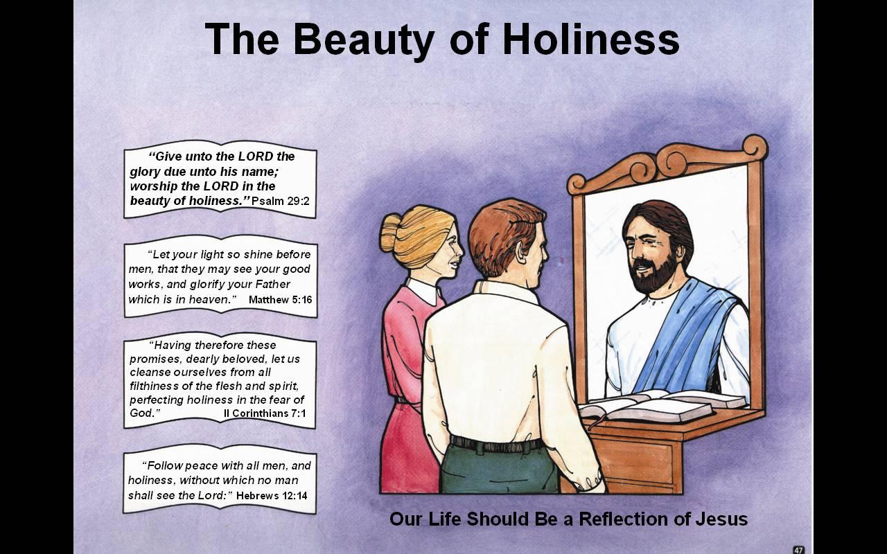 reflection on jesus